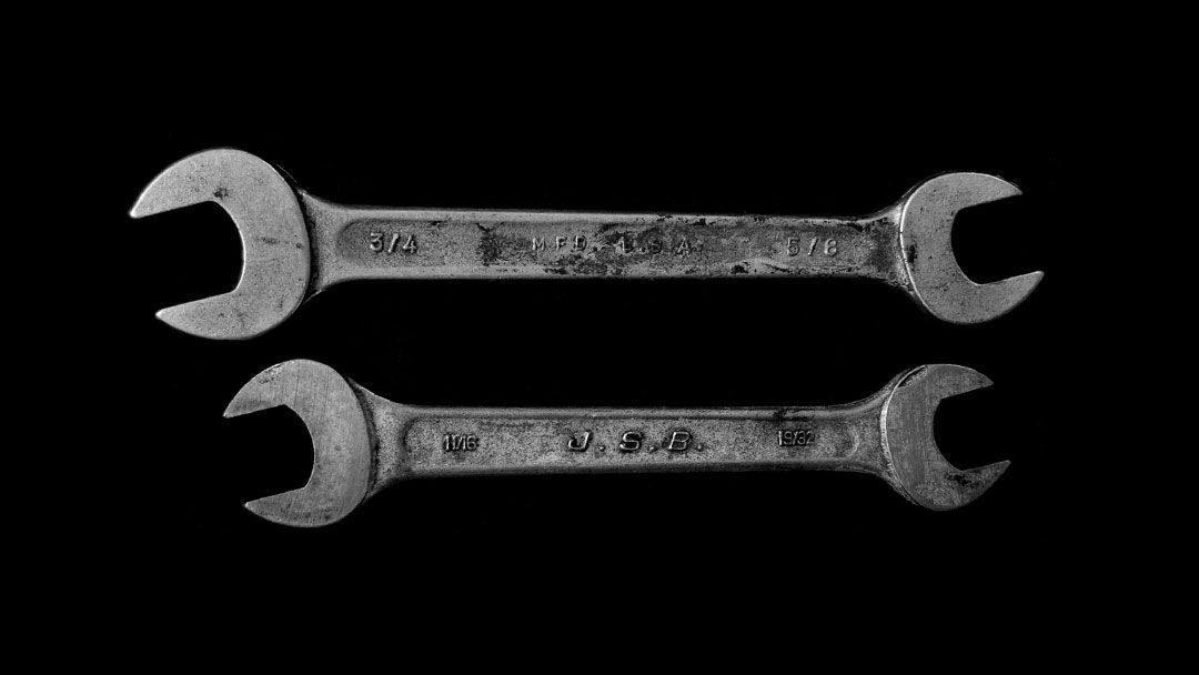 Fotografía de llaves inglesas