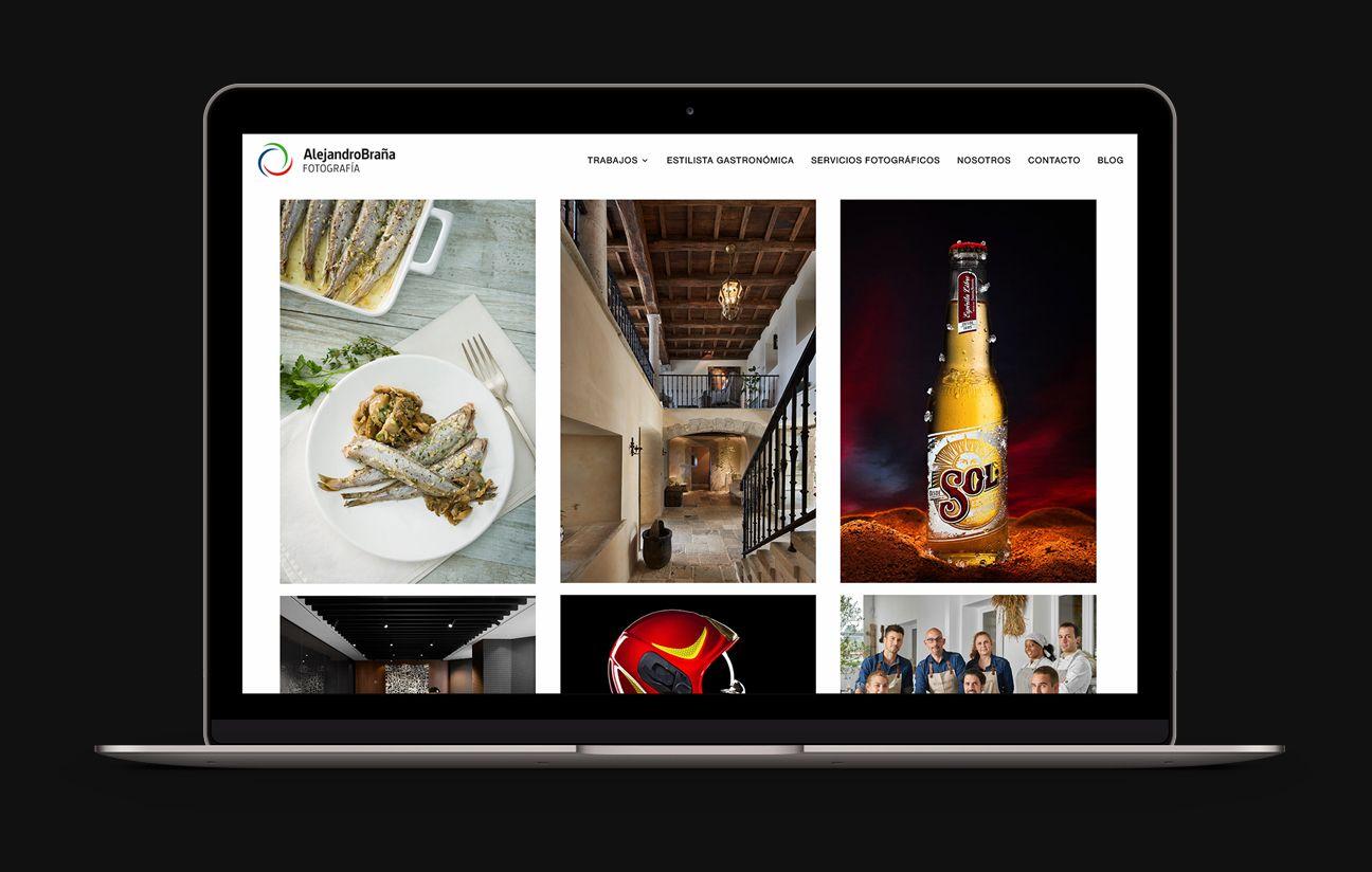 Inicio página web Alejandro Braña Fotografía.