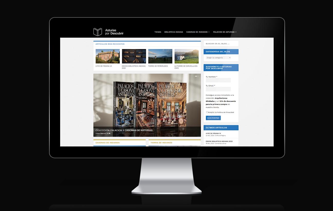 Inicio web Asturias por Descubrir.