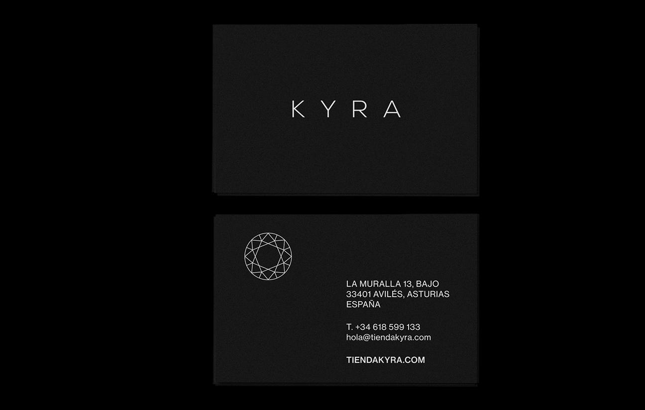 Diseño de identidad para KYRA.