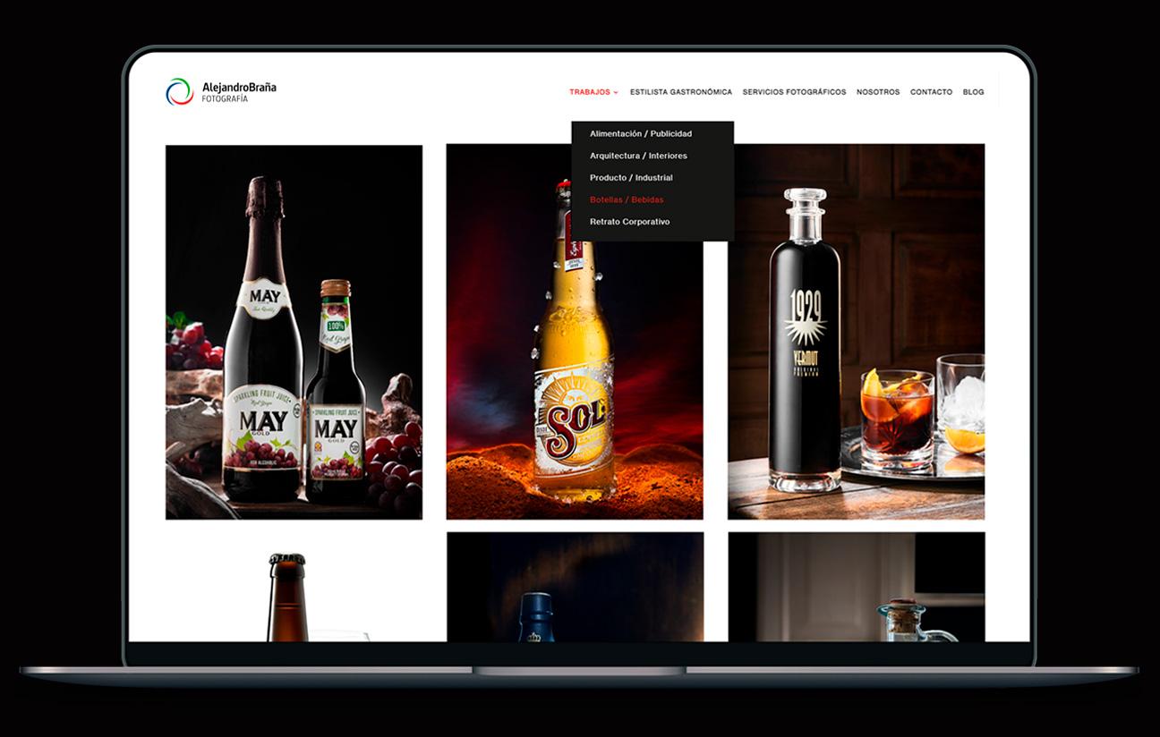 Portfolio web Alejandro Braña.
